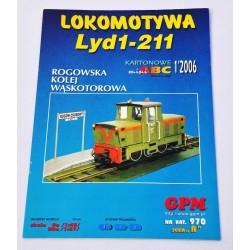Lokomotywa Lyd1-211 Model...