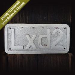 """Tabliczka """"Lxd2"""""""